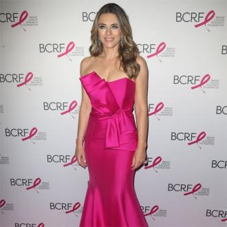Elizabeth Hurley gets on great with Hugh Grant's wife