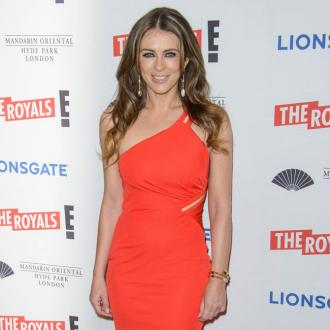 Elizabeth Hurley's son is her world
