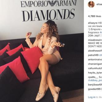 Ella Eyre launches Emporio Armani Diamonds Club fragrance