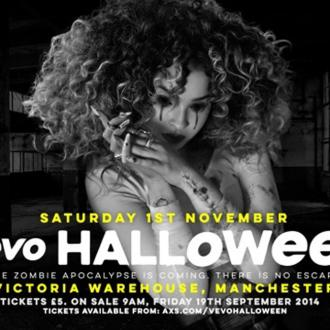 Sam Smith to perform at Vevo Halloween party