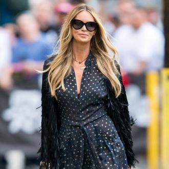 Elle Macpherson carries around a urine tester kit