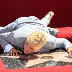 Ellen Degeneres Receives Star On Hollywood Walk Of Fame