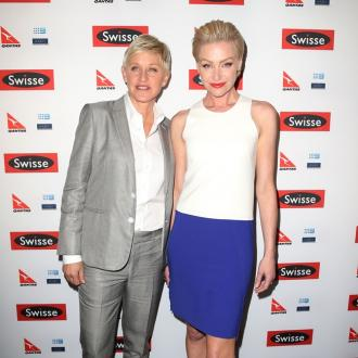 Portia de Rossi's skywriting surprise