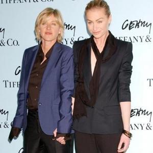 Portia De Rossi Takes Ellen's Name