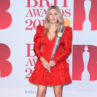 Ellie Goulding admits Grammys jibe at BRITs wasn't her idea