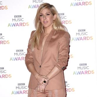 Ellie Goulding In Punch Scare