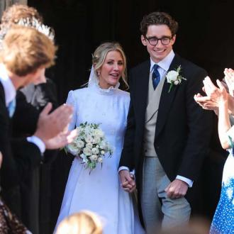 Ellie Goulding's bespoke Chloé wedding gown took 640 hours to make