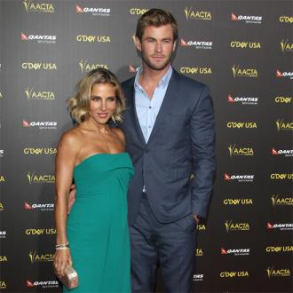 Chris Hemsworth and Elsa Pataky have easy 'chemistry' on set of Horse Soldiers