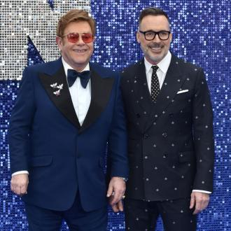 Sir Elton John and David Furnish produce their own apple juice