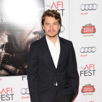 Emile Hirsch could watch son forever