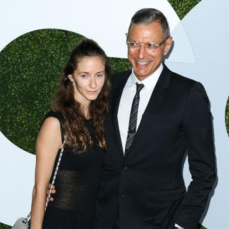 Jeff Goldblum welcomes son