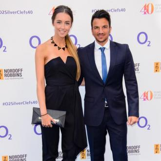 Peter Andre And His Wife 'Happy' With The Size Of Their Family