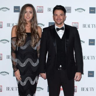 Peter Andre glad of large bed