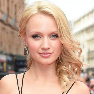 Emily Berrington recalls snotty on-screen kiss