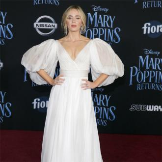 Emily Blunt shot Mary Poppins Returns at Buckingham Palace