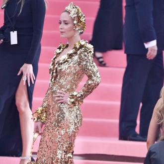 Emily Blunt's Met Gala gown featured 510,000 gold sequins