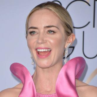 Emily Blunt thinks win shocked husband