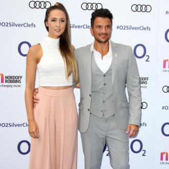 Peter Andre played wedding song whilst wife Emily gave birth