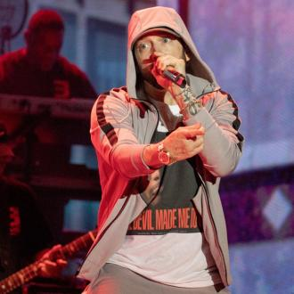 Eminem is back in the studio