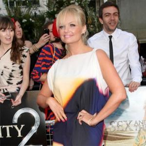Emma Bunton Doesn't Chat Fashion With Victoria