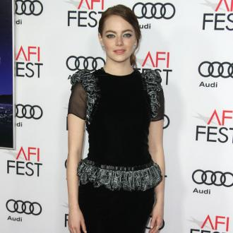 Emma Stone sucks her thumb