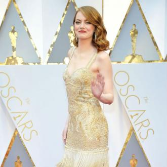Emma Stone's short celebration