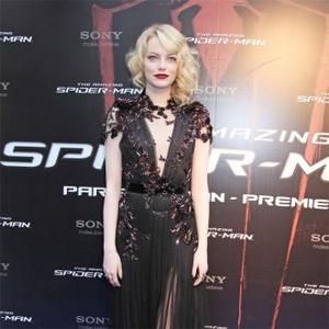 Emma Stone Wows At Paris Spider-man Premiere