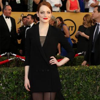 Emma Stone Dared To Be Different At Sag Awards