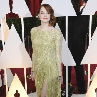 Emma Stone Plays 'Dress Up'