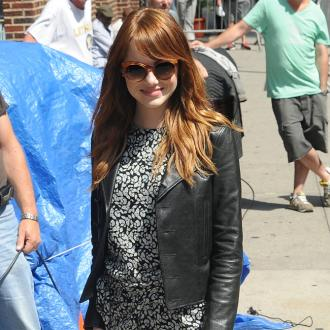 Emma Stone Fakes Coolness