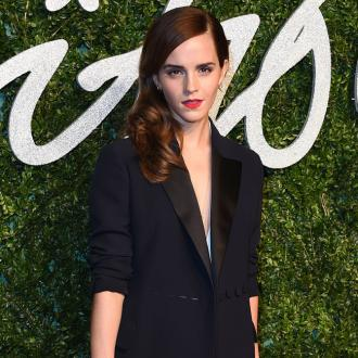Emma Watson Always Wears Red Lipstick To An 'Important' Event