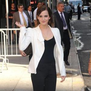 Emma Watson Likes Comfy Shoes