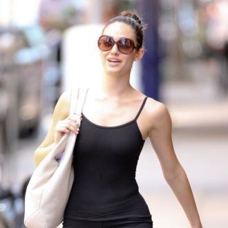 Emmy Rossum's simple vacation