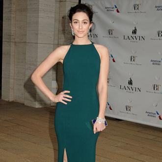 Emmy Rossum Not 'Easy'