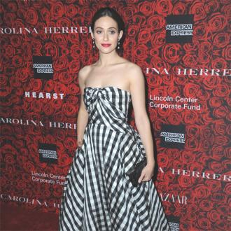 Emmy Rossum's Wedding Dress Designed By Carolina Herrera
