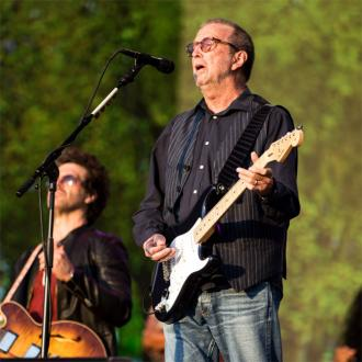 Eric Clapton and Santana swap solos at BST