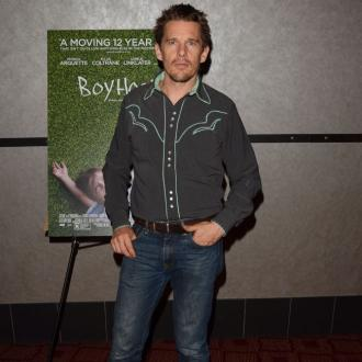 Ethan Hawke's easy schedule for Boyhood