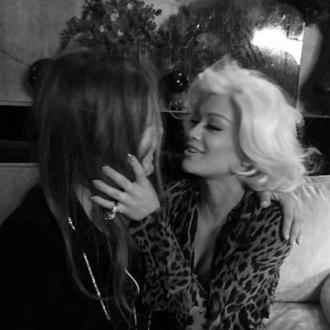 Rita Ora Teases Roberto Cavalli Campaign