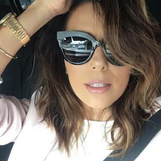 Eva Longoria says her hair is completely grey