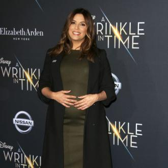 Eva Longoria outgrows clothes