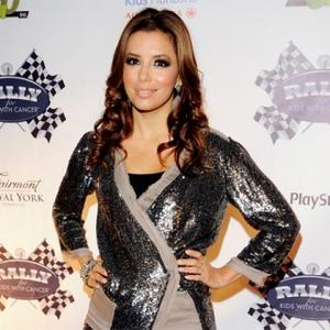 Eva Longoria Parker Enjoys Stress