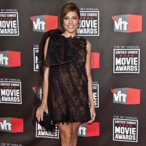 Eva Mendes Barks French At Her Dog