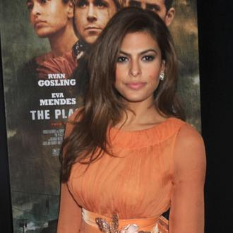 Eva Mendes doesn't have a nanny