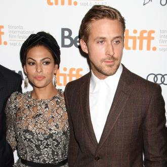 Ryan Gosling And Eva Mendes Saucy On Set