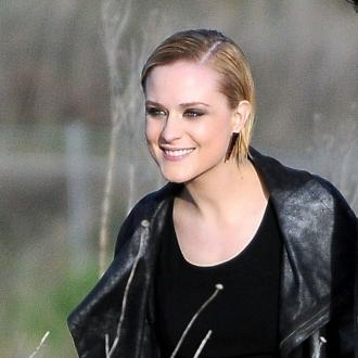 Evan Rachel Wood Tests Baby Gadgets