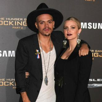 Evan Ross And Ashlee Simpson's Dance Battle