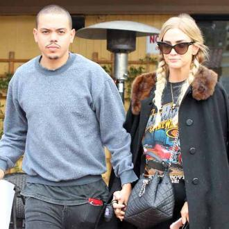 Ashlee Simpson and Evan Ross always travel with their family