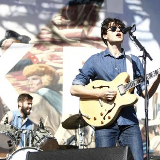 Vampire Weekend's Ezra Koenig still doesn't have his own amp