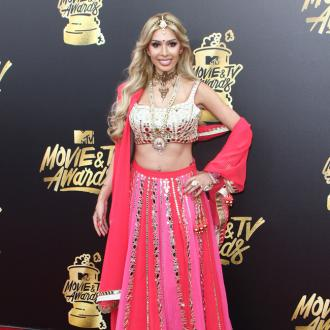 Farrah Abraham wears Bollywood-inspired ensemble to 2017 MTV Movie and TV Awards