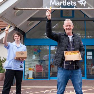 Fatboy Slim backs Chip in for Martlets campaign